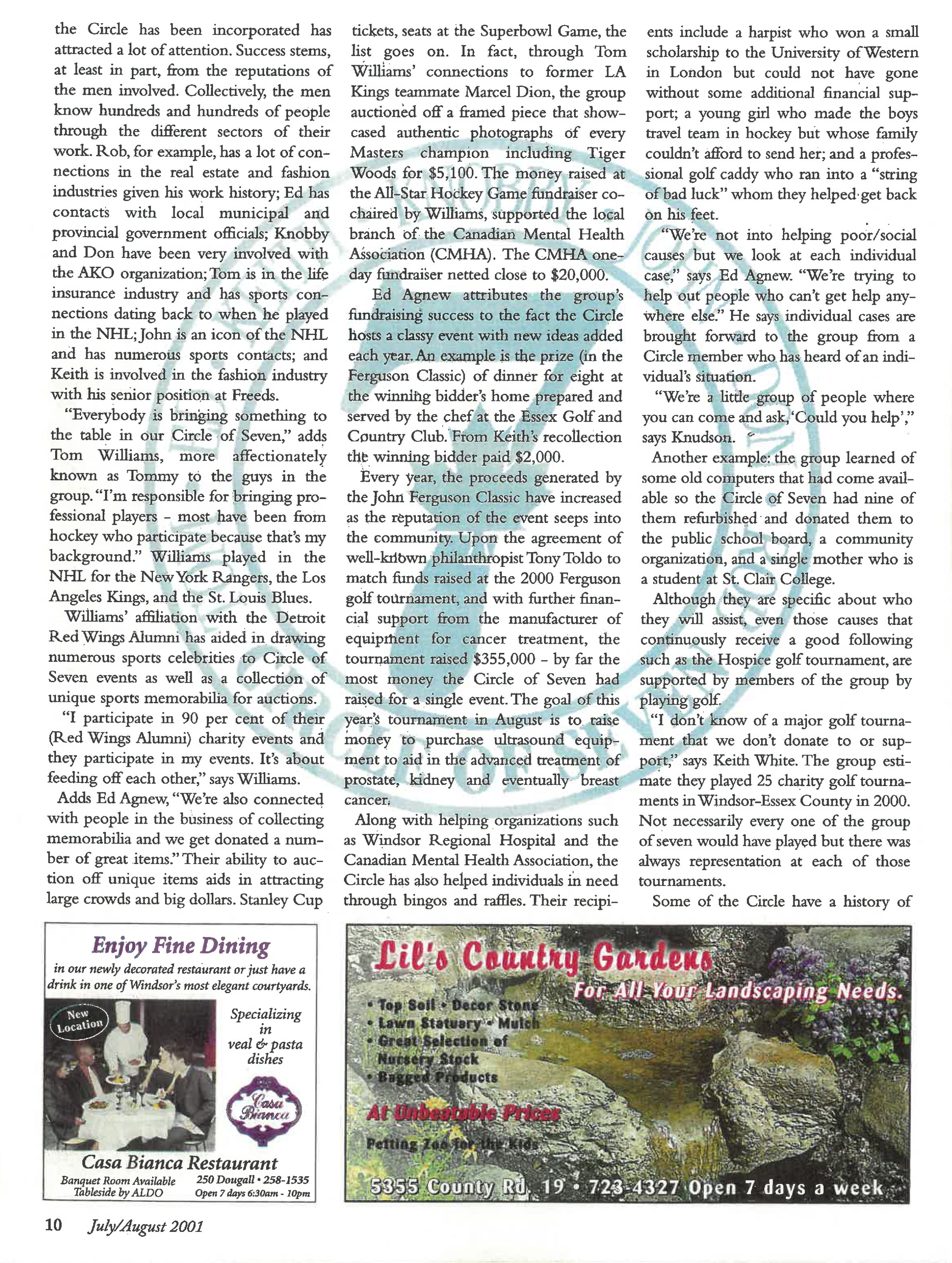 The magic of Seven Article page 3