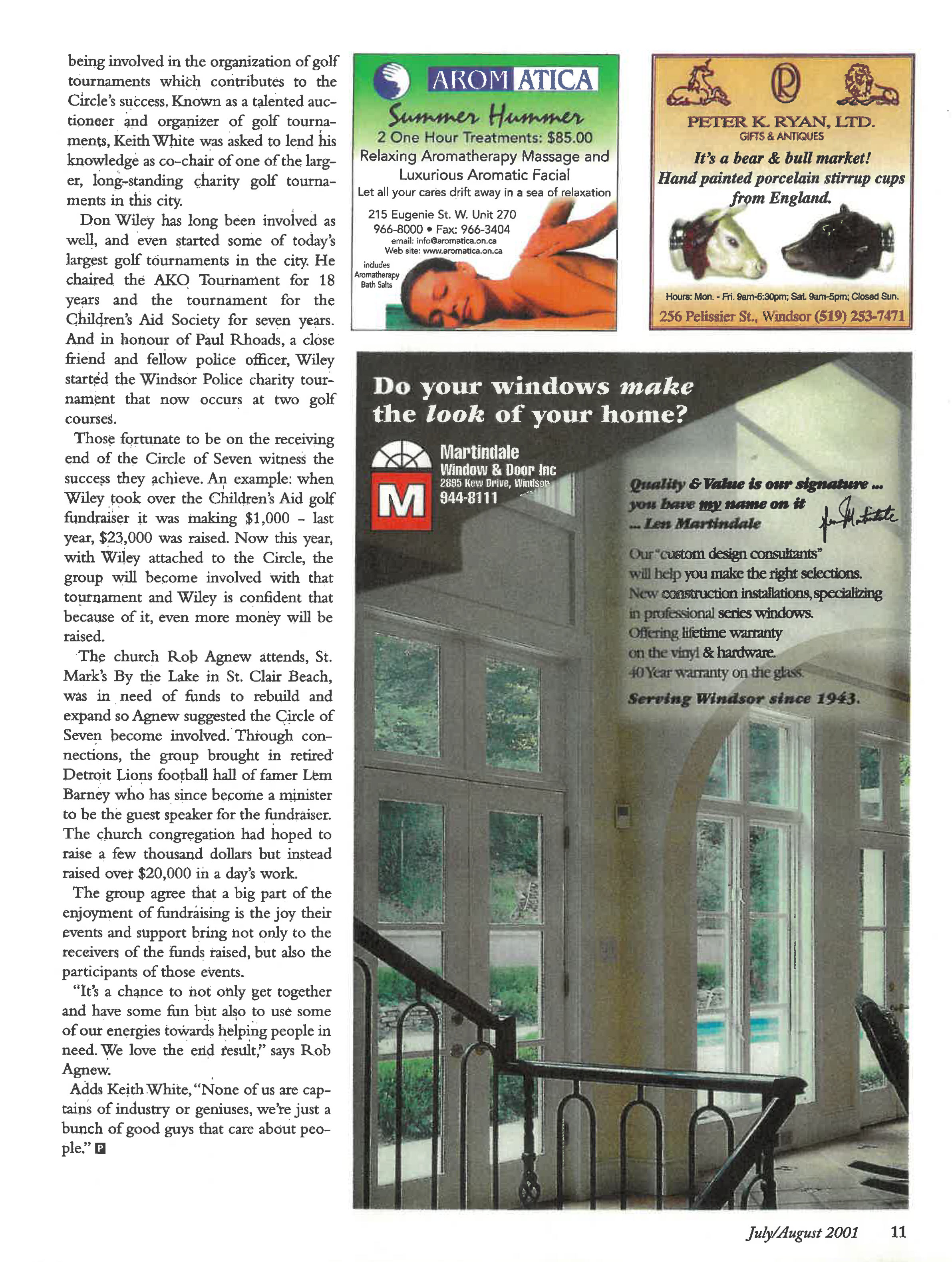 The magic of Seven Article page 4
