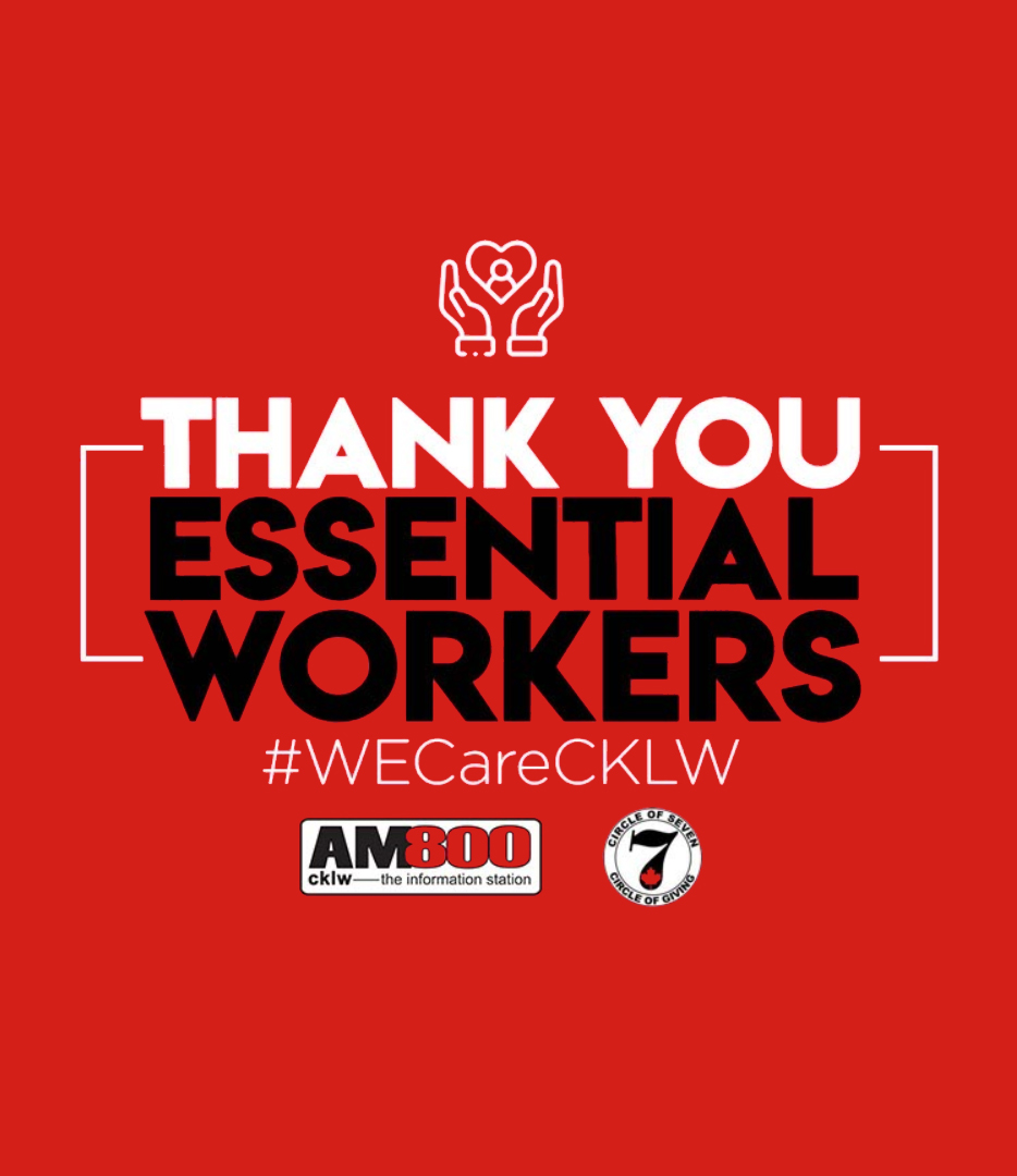 Thank you Essential Workers #WECareCKLW